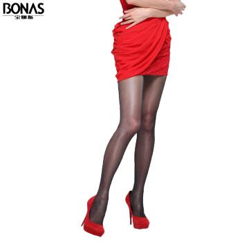 寶娜斯絲襪15D防勾絲連褲襪夏季透氣加檔襪子女 2黑 2淺膚 2灰 2卡 均碼-超值8雙裝+湊單品,降價幅度46.8%