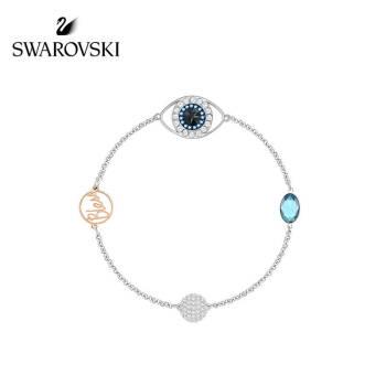 SWAROVSKI施华洛世奇 幸运守护  项链+手链组套套装 女友礼物,降价幅度21.1%