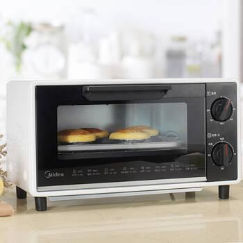 美的(Midea)T1-109F 家用多功能迷你小烤箱 10升家用容量,降價幅度21.6%