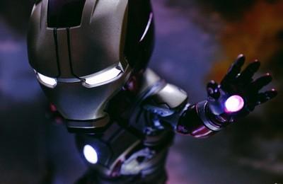 [男人的大玩具]鋼鐵俠3-MK42 Q版模型