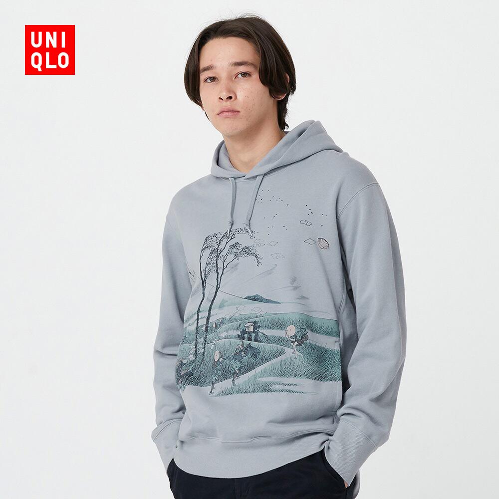 男裝/女裝 (UT) EDO UKIYO-E連帽運動衫 426323
