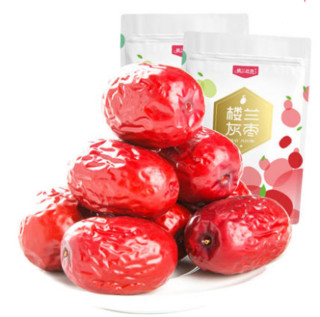 楼兰丝路 新疆若羌一级枣 500g*2袋 红枣 干果零食 灰枣 非和田大枣 小枣子 *2件,降价幅度0.4%