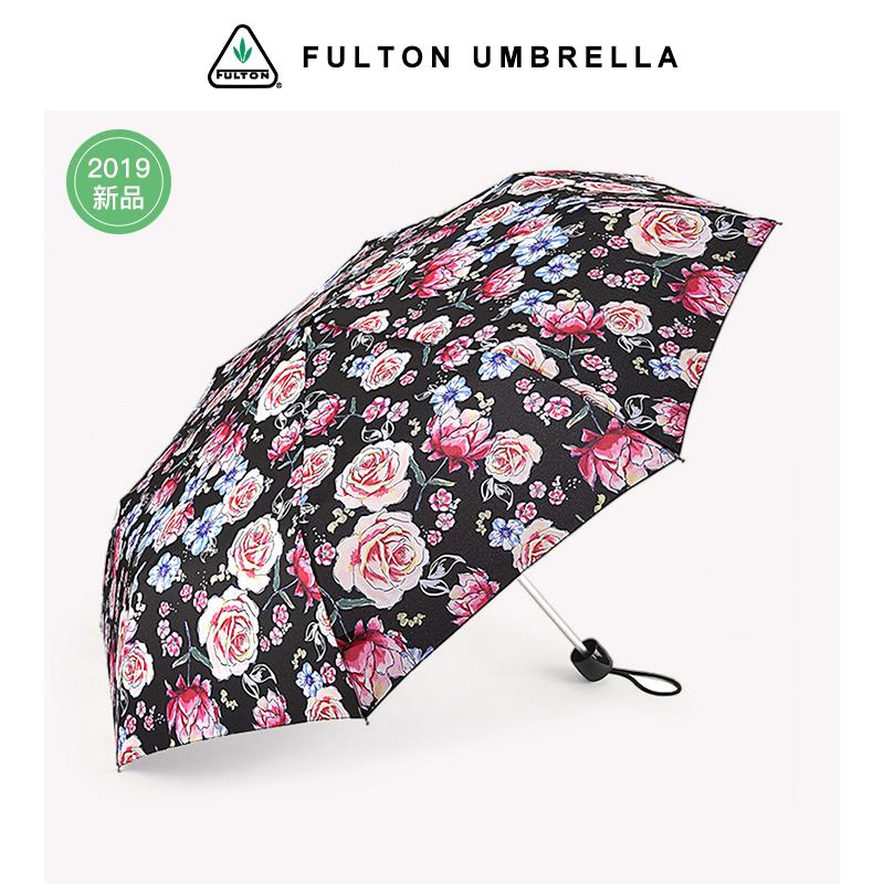 英国富尔顿FULTON联名款进口超轻雨伞铅笔伞便捷折叠伞女晴雨伞
