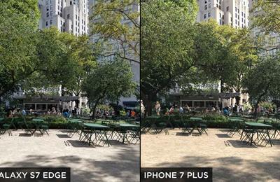 iPhone 7 Plus对比三星S7 Edge拍照实力 被扑街