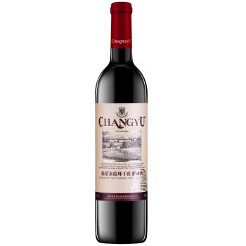 张裕(CHANGYU)红酒 橡木桶醇酿赤霞珠干红葡萄酒 750ml *2件,降价幅度30%