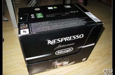 Nespresso Lattissima+ 雀巢胶囊咖啡机 DeLonghi EN520