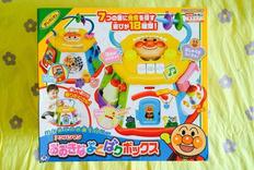 日本海淘玩具——面包超人六面体(七面体)