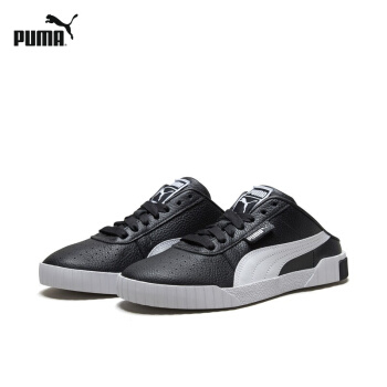 PUMA彪馬官方 女子穆勒鞋Cali 370484 黑色-彪馬白-07 38.5
