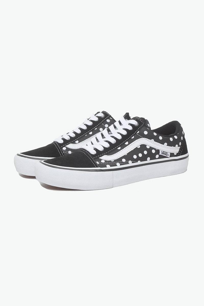 YOHO有货VANS范斯xBakerSkateboardsOldSkoolPro波点印花板鞋男女,降价幅度35%