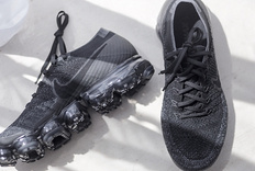 Nike Air Vapormax Triple Black 2.0 开箱,漫步云端!