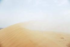 天地孤影任我行 -- 腾格里流沙地带印象