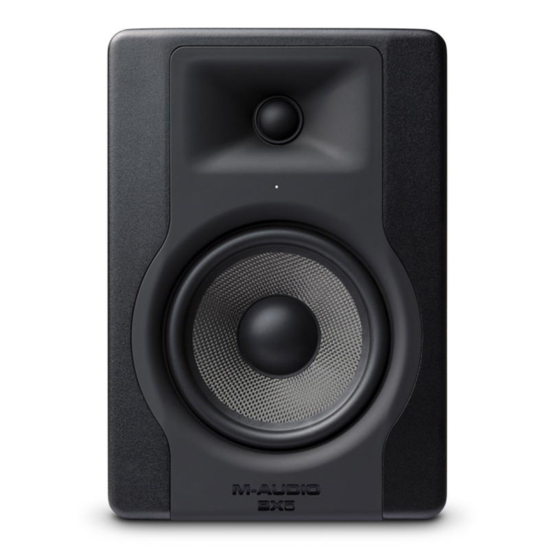 M-audio BX5 D3 五寸5寸专业监听音箱 有源桌面监听音箱 近场音箱