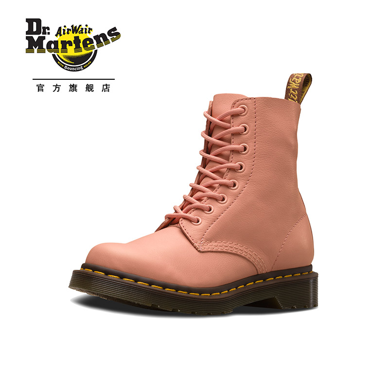 Dr.Martens马汀博士1460PASCAL荔枝纹软皮8孔马丁靴女英伦风短靴,降价幅度30%