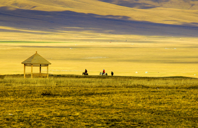 新疆北疆之行(10)巴音布鲁克的草原