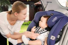 Britax安全座椅为孩子一路护航