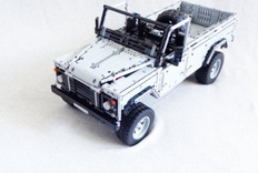 LEGO MOC Land Rover Defender 110 路虎卫士 110