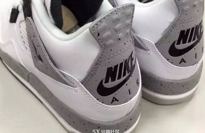 "我的第二双AJ4,Air Jordan 4 OG ""White Cement"""