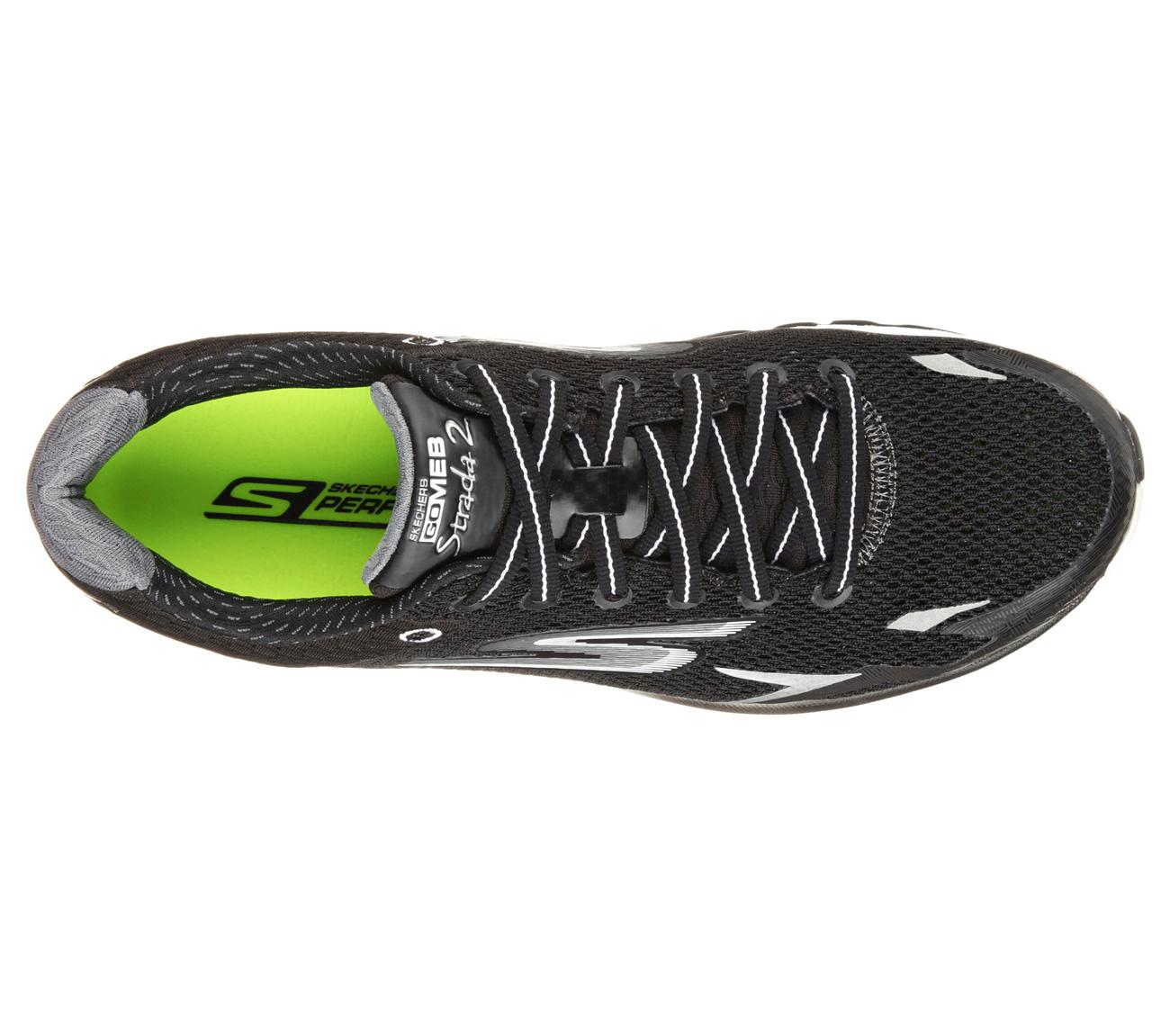 Skechers Performance GOmeb Strada 2 跑鞋 喵喵折