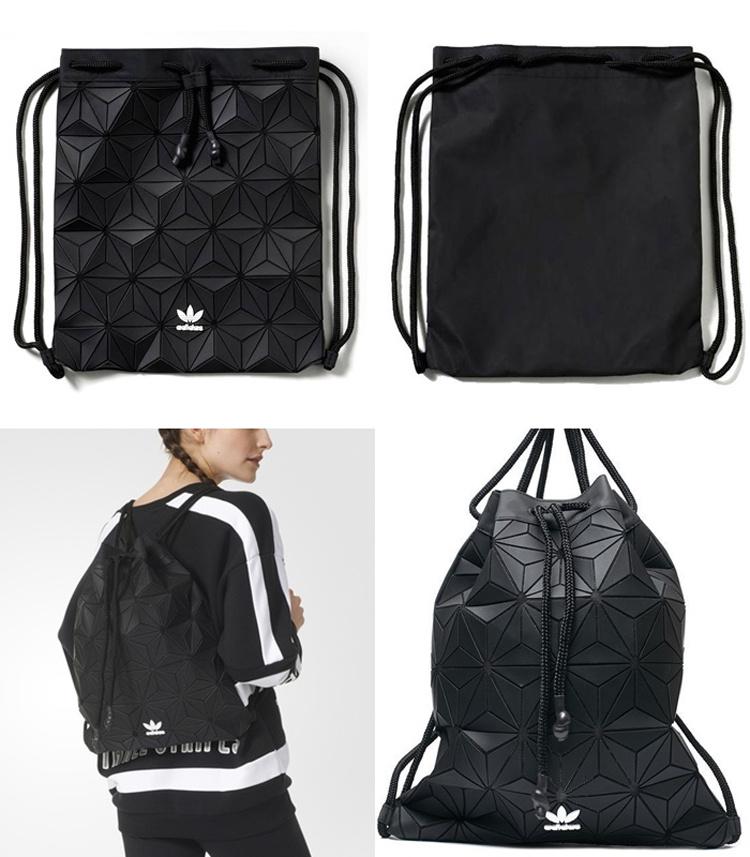 Adidas Originals 3D菱形抽绳包Bucket Gym Sack - 喵喵折 3ab42fa437818