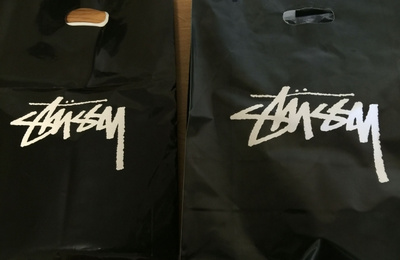 Stussy (Seattle )sweater and T-shirt 开箱